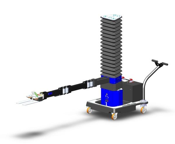 Bras SCARA parts autonome avec prehenseur